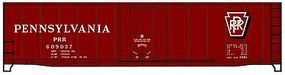 Accurail 50 Plug-Door Riveted Boxcar Kit Pennsylvania Railroad HO Scale Model Train Freight Car #5134