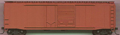 Accurail 50 AAR Combo Door Riveted Boxcar Kit Undecorated HO Scale Model Train Freight Car #5300