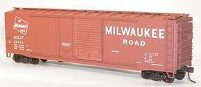 Accurail 50 Combination-Door Riveted-Side Boxcar Milwaukee Road HO Scale Model Train Freight Car #5307