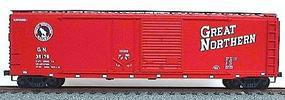 Accurail 50 AAR Combo Door Riveted Boxcar Kit Great Northern HO Scale Model Train Freight Car #5308