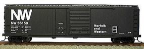 Accurail 50 AAR Combo Door Riveted Boxcar Kit Norfolk & Western HO Scale Model Train Freight Car #5313