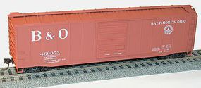 Accurail 50 Steel Boxcar Baltimore & Ohio HO Scale Model Train Freight Car #5503