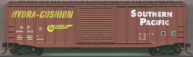 Accurail 50' Exterior Post Boxcar - Kit Southern Pacific -- HO Scale Model Train Freight Car -- #5608
