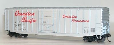 Accurail 50' Exterior-Post Plug-Door Boxcar Canadian Pacific -- HO Scale Model Train Freight Car -- #56401