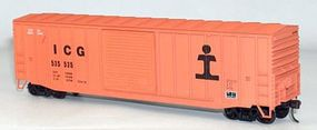 Accurail 50 Exterior Post Boxcar Kit Illinois Central Gulf HO Scale Model Train Freight Car #5649