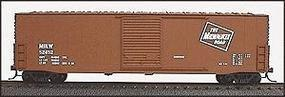 Accurail 50 AAR Welded Sliding-Door Boxcar Kit Milwaukee Road HO Scale Model Train Freight Car #5702