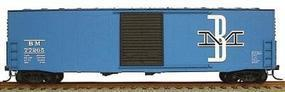 Accurail 50 AAR Welded Sliding Door Boxcar Kit Boston & Maine HO Scale Model Train Freight Car #5715