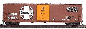 Accurail 50 AAR Welded Plug Door Boxcar Kit Santa Fe HO Scale Model Train Freight Car #5801