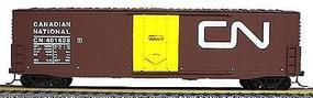 Accurail 50 Welded-Side Plug-Door Boxcar Kit Canadian National HO Scale Model Train Freight Car #5804