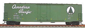 Accurail 50 Welded-Side Plug-Door Boxcar Kit Canadian Pacific HO Scale Model Train Freight Car #5810