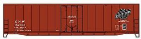 Accurail 50 AAR Welded Plug Door Boxcar Chicago & NW HO Scale Model Train Freight Car #5820