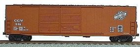 Accurail 50 Welded Dbl Door Boxcar Kit Chicago & Northwestern HO Scale Model Train Freight Car #5908