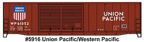 Accurail 50 AAR Welded Double-Door Box Car Kit Union Pacific HO Scale Model Train Freight Car #5916