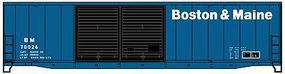 Accurail 50 Welded Double Door Boxcar Boston & Maine HO Scale Model Train Freight Car #5919