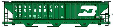 Accurail Burlington Northern 4750 Pullman Standard Grain Hopper -- HO Scale Model Train Freight Car -- #6502