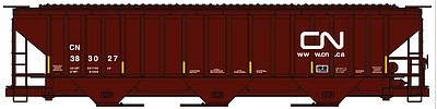 Accurail Ho 3-Bay Covd Hopper Cn