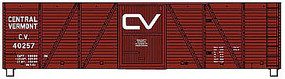 Accurail 40' 6-Panel Wood Boxcar Central Vermont HO Scale Model Train Freight Car #70111