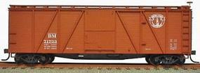Accurail Boston & Maine 40 6-Panel Outside Braced Wood Boxcar HO Scale Model Train Freight Car #7014