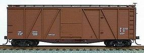 Accurail 40 Wood 6-Panel Outside-Braced Boxcar Kit Data Only HO Scale Model Train Freight Car #7098