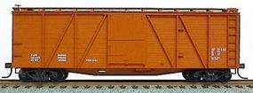 Accurail 40 Wood 6-Panel Outside-Braced Boxcar Kit Data Only HO Scale Model Train Freight Car #7099