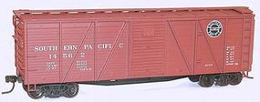 Accurail 40 Wood 6-Panel Boxcar Kit - Southern Pacific HO Scale Model Train Freight Car #71121
