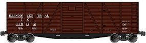 Accurail 40' 6 Panel Boxcar Dread End Illinois Central HO Scale Model Train Freight Car #7116