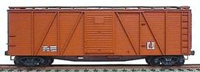 Accurail 40 Wood 6-Panel Outside-Braced Boxcar Kit Data Only HO Scale Model Train Freight Car #7199