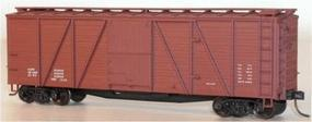 Accurail 40 Single-Sheathed 6-Panel Wood Boxcar Kit Data Only HO Scale Model Train Freight Car #7298