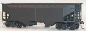 Accurail 50-Ton Offset-Side 2-Bay Hopper Kit Undecorated HO Scale Model Train Freight Car #7700