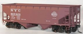 Accurail 50-Ton Offset-Side Twin Hopper Kit New York Central HO Scale Model Train Freight Car #7709