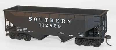 Accurail 50-Ton Offset-Side Twin Hopper Kit Southern HO Scale Model Train Freight Car #7714