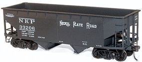 Accurail 50-Ton Offset-Side Twin Hopper Kit Nickel Plate Road HO Scale Model Train Freight Car #7716