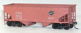 Accurail 50-Ton Offset-Side 2-Bay (Twin) Hopper Kit CMO HO Scale Model Train Freight Car #7718