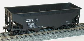 Accurail Offset-Side Twin Hopper W&LE HO Scale Model Train Freight Car #7730
