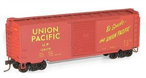 Accurail PS-1 40 Boxcar 3-Pack - Kit - Union Pacific HO Scale Model Train Freight Car #8032