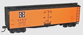 Accurail 40 Wood Reefer 3-Pack - Kit - Santa Fe SFRD HO Scale Model Train Freight Car #8050
