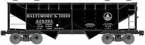 Accurail Baltimore & Ohio 50-Ton Offset Twin Hopper HO Scale Model Train Freight Car #80589