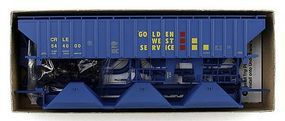 Accurail 4750 3 Bay Covered Hopper CRLE HO Scale Model Train Freight Car #80619