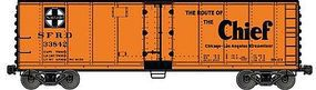 Accurail Steel Reefer ATSF Super Chief HO Scale Model Train Freight Car #80622