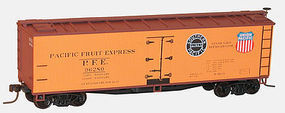 Accurail 40 Wood Reefer Pacific Fruit Express (3) HO Scale Model Train Freight Car #8065