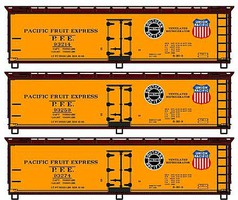 Accurail HO 40' Wood Reefer Pacific Fruit Exp3#st