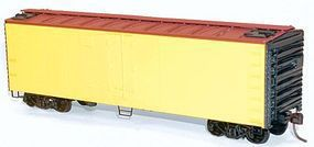 Accurail 40' Swing Door Steel Reefer Kit Undecorated HO Scale Model Train Freight Car #8300
