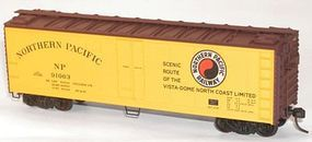 Accurail 40 Swing Door Steel Reefer Kit Northern Pacific HO Scale Model Train Freight Car #8301