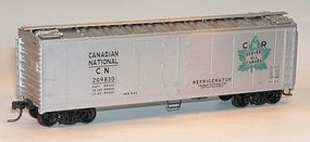 Accurail 40 Steel Reefer w/Hinged Door Kit Canadian National HO Scale Model Train Freight Car #8315