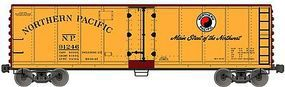 Accurail 40 Steel Reefer w/Hinged Door - Kit - Northern Pacific HO Scale Model Train Freight Car #8316