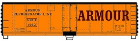 Accurail 40 Hinged Door Steel Reef Arm