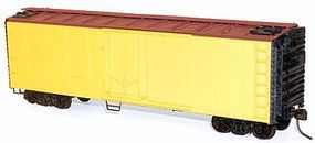 Accurail 40 Plug Door Steel Reefer Kit Undecorated HO Scale Model Train Freight Car #8500