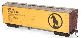 Accurail 40 Plug Door Steel Reefer Kit GN Western Fruit Express HO Scale Model Train Freight Car #8503