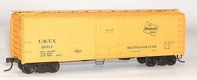 Accurail 40' Steel Reefer w/Plug Doors Kit Milwaukee Road #10314 -- HO Scale Model Train Freight Car -- #8509