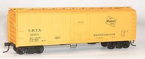 40' Steel Reefer w/Plug Doors Kit Milwaukee Road #10314 HO Scale Model Train Freight Car #8509